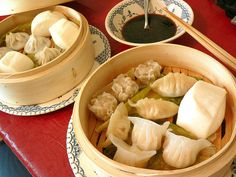 I enjoy the home dim sum almost every weekend. You could buy various frozen buns and dumplings at Chinse stores, and steam them up. Nice brunch for slow Sunday morning.     We're collecting dim sum photos to help research for our upcoming dim sum game!