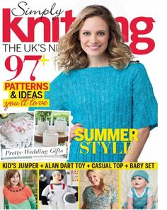 Simply Knitting Issue 147 July 2016 | Martinas Bastel- & Hobbykiste