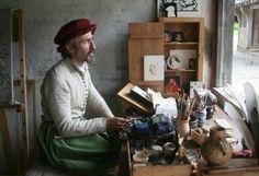 Veel beroemde schilders komen uit Kergheim. Kergijnen zijn namelijk uitstekende kunstenaars.