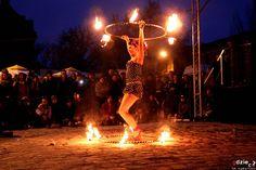 Fotorelacja Agaty Fronc z fireshow Wrocław Tattoo Konwent
