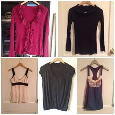Anthropologie 5PC Lot Pre•loved Anthropologie 5PC Lot  • The brands include Velvet • C&C California • James Perse • Ella Moss • Scrapbook • All are a size Small • Excellent condition as is Anthropologie Tops