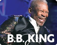 B.B. King:  The King of the Blues is still light on his feet, singing and playing with relentless passion. Time seems to make B.B. King more popular, more cherished and more relevant than ever. For more than half a century, Riley B. King - better known as B.B. King - has defined the blues for a worldwide audience and since he started recording in the '40s, he has released over fifty albums, many of them classics.  Northern Quest Resort & Casino, May 5, 7:30PM