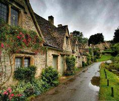 Bibury, Gloucestershire, England (United Kingdom)