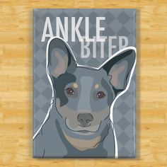 Australian Cattle Dogs Blue Heeler Gifts Refrigerator Magnets With... (7.97 AUD) ❤ liked on Polyvore featuring home, home decor, office accessories, grey, home & living, kitchen & dining, kitchen décor, refrigerator magnets, magnets refrigerator and dog magnets