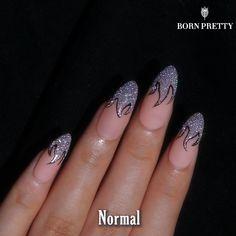 Beauty Hacks Nails, Nail Art Hacks, Acrylic Nail Designs, Acrylic Nails, Picasso Nails, Nail Art Designs Videos, Glitter Nail Art, Nail Tutorials, Nail Wraps