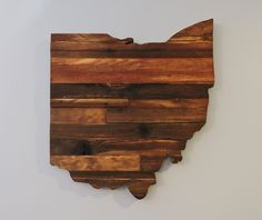 Ohio Rustic Wood State Cut Out, Wood Art Sign,Ohio Sign, Ohio Art by CoveredBridges on Etsy https://www.etsy.com/listing/237890550/ohio-rustic-wood-state-cut-out-wood-art