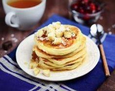 Pancakes à la banane et au lait de coco