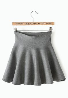 Super Cute and Comfy! Grey Plain High Waist Loose Cotton Blend. This website is really affordable.