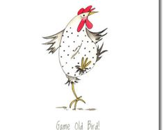 Poultry In Motion Greeting Card Funny от TheSkinnyCardCompany