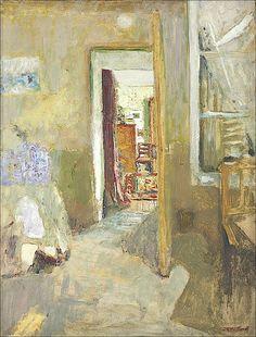 Edouard Vuillard (1868-1940) / La porte ouverte