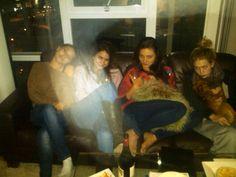 Jessica Parker Kennedy, Shelley Hennig, Phoebe Tonkin and Britt Robertson (The Secret Circle).