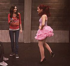 Dancing ariana grande in victorious animated GIF
