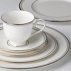 Pearl Platinum Dinnerware -Lennox