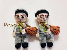 Vecindad del Chavo 8 - YouTube Crochet Patterns, Crochet Hats, Sewing, Chloe, Crocheted Toys, Crochet Lace, Bears, Crochet Dolls, Ideas