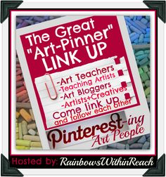 Pinterest Directory for Artists, Art Teachers, Teaching Artists + Creative types LINKUP (via RainbowsWithinReach) Looking for creative ideas? Follow these!