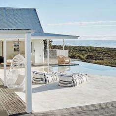 Beautiful outdoor living Via @interior_magasinet #interior_delux #terrace #backyard #patio #porch #balcony #veranda by interior_delux