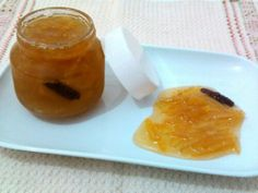 Compota de casca de laranja ou de limão siciliano