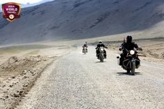 Ride to Ladakh on group motorcycle tour by India World Travel. Tour Details at: http://bit.ly/12FG9v6.