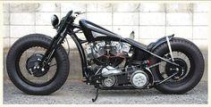 Custom Harley Bobber #motorcycles #bobber #motos | caferacerpasion.com