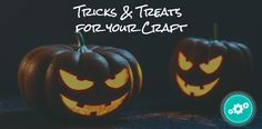 Sign up for our monthly newsletter and follow our blog to get tricks & treats for your craft all year long!