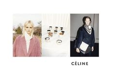 The Essentialist - What's Hot In Fashion Advertising: Celine Ad Campaign Fall/Winter 2012/2013