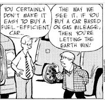 Car Comic Strip
