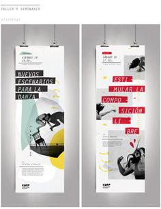 Festival de Danza Experimental Parte ll on Behance in My work Layout Design, Design De Configuration, Print Layout, Web Design, Book Design, Creative Design, Rollup Design, Rollup Banner Design, Standing Banner Design
