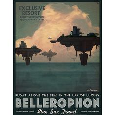 The Geeky Nerfherder: Serenity Blue Sun Travel Posters by Adam Levermore Kampfstern Galactica, Battlestar Galactica, Steampunk, Pop Culture Art, Art Deco, Firefly Serenity, Vintage Travel Posters, Cool Posters, That Way