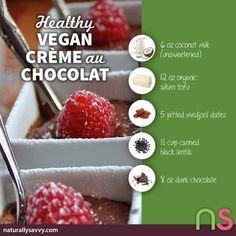 Crème au Chocolat (vegan) - Cuisinicity