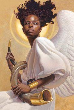 Heavenly Angel - magnet – It's A Black Thang.com