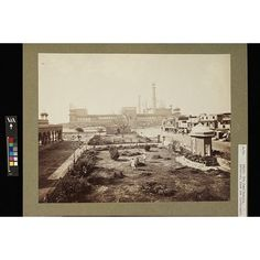 The Jummna Musjid, from the North, Delhi. | Bourne, Samuel | V&A Search the Collections