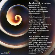 Synchronicity Is A Product Of Quantum Systems Physics And Mathematics, Quantum Physics, Spiritual Wisdom, Spiritual Awakening, Quantum Consciousness, Higher Consciousness, Quantum Entanglement, Cool Science Facts, Spirit Science