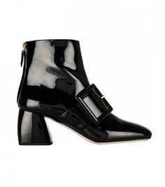 Miu Miu Buckled Ankle Boots