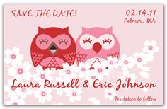 Cute Save the Date Magnets - Owls in Love. Two Owls sitting in a tree k-i-s-s-i-n-g. First comes love than comes marriage. Now, hOWL to the world your love with these Save the Date Magnets. A unique and fun way to Save the Date. Funny Save The Dates, Wedding Save The Dates, Owl Always Love You, Love Is All, Branch Vector, Sitting In A Tree, Paper Owls, Owl Family, Let The Fun Begin