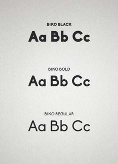 Font of the day: Biko | Typography | Creative Bloq