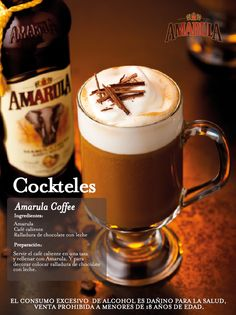 Amarula Coffee Cocktail Drinks, Alcoholic Drinks, Beverages, Mini Desserts, Amarula Drink, Limoncello Cocktails, South African Recipes, Coffee Creamer, Drinking Tea