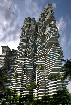 Sanjay Puri Architects - Mumbai - Architects I would love to see the floor plans for this building. :)