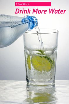 Staying hydrated and drinking enough water is an important part of maintaining an healthy lifestyle. Here are 5 Easy Ways to Drink More Water