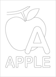 alphabet coloring pages -- so many printables on this site!