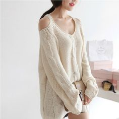 $27.00 | Strapless Loose Sweater