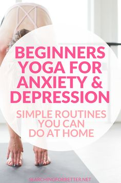 Beginners Yoga For Anxiety And Depression (You Can Do At Home!) – Searching For Better yoga fitnees – Top healthy fitness Yoga Beginners, Workout For Beginners, Yoga For Beginners Anxiety, Easy Beginner Workouts, Fitness For Beginners, Beginner Yoga Video, Beginner Yoga Poses, Beginner Morning Yoga, Beginner Pilates