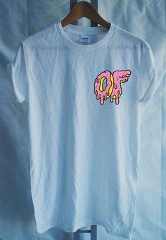 Odd Future Dripping Breast Logo Donut Tshirt Mens by DoughnutTees