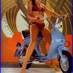 Jean and the Lambretta Vega