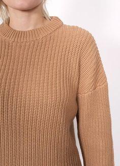 L:C Babe   Callahan Shaker Boyfriend Sweater
