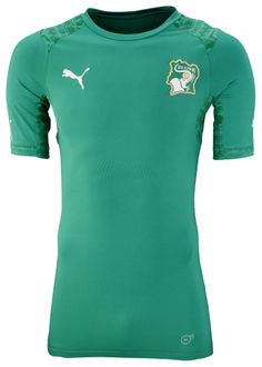 Ivory Coast Away Kit for World Cup 2014 #worldcup #brazil2014 #ivorycoast #soccer #football #CIV