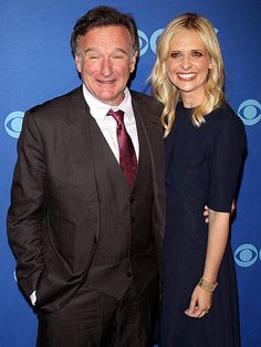 Sarah Michelle Gellar Tribute to Robin Williams on Anniversary of His Death #RobinWilliams
