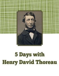 Henry David Thoreau: Warm-up Activities and More - 5 Days