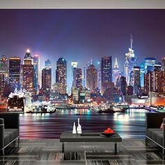 Fotomural 300x210 cm - 3 tres colores a elegir - Papel tejido-no tejido. Fotomurales - Papel pintado - Ciudad New York d-B-0034-a-b Fotomurales! B&D XXL https://www.amazon.es/dp/B01B61XQMA/ref=cm_sw_r_pi_dp_oU1dxbF0HE1SV