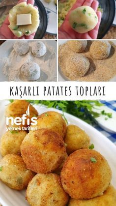 Turkish Recipes, Ethnic Recipes, Tasty, Yummy Food, Dessert Recipes, Desserts, Frozen Yogurt, Baked Potato, Food To Make