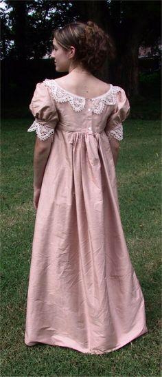 Regency Gown Pattern | Sense & Sensibility Patterns